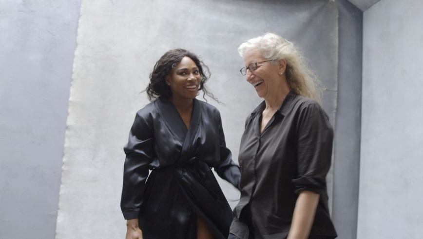 Tennis player Serena Williams and Leibovitz